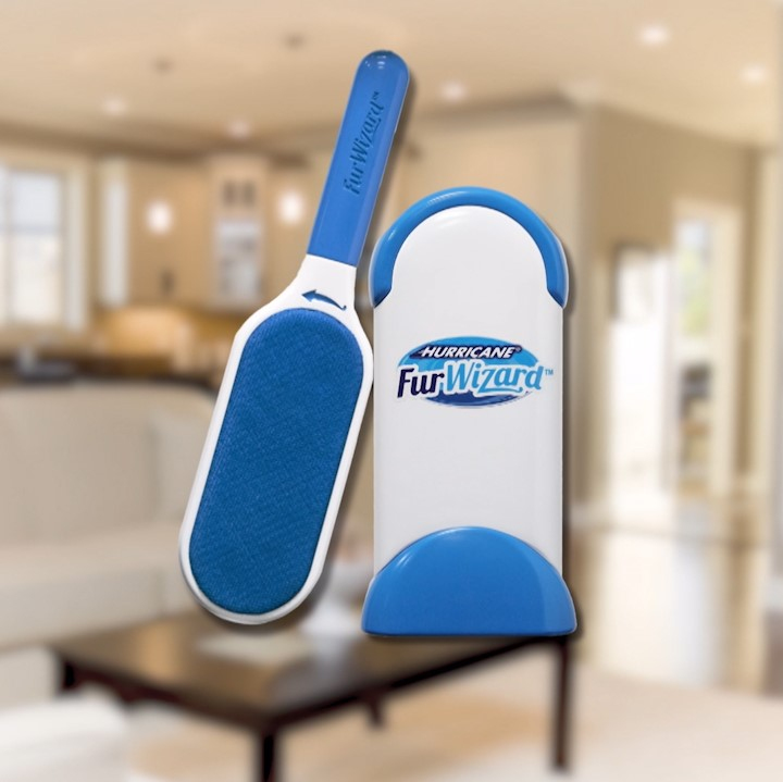 hurricane furwizard fusselb rste tierhaarb rste blau. Black Bedroom Furniture Sets. Home Design Ideas